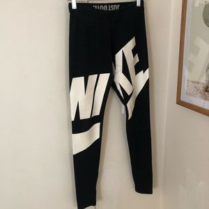 Nike wrapped logo leggings